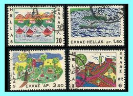 GREECE- GRECE  - HELLAS 1967:  Compl, Set Used - Grèce