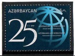 Azerbaijan. 2017 Azerbaijan And World Bank - 25. 1v:  0.5m    Michel # 1219A - Azerbaïjan