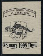 Rare // Etiquette De Vin // Militaire // Journée Des Parents CP1 ER BL 22/98 - Militaire