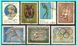 GREECE- GRECE - HELLAS 1968:  Compl.set Used - Grèce