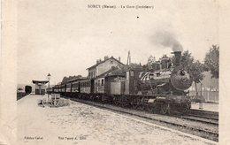 ! Sorcy - La Gare (intérieur) - France