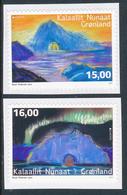 "GREENLAND/Grönland EUROPA 2017 ""Castles""  Set Of 2v** Adhesive - 2017"