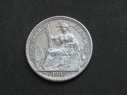 10 Centimes 1937 - Argent - INDOCHINE    *****  EN ACHAT IMMEDIAT ***** - Colonies