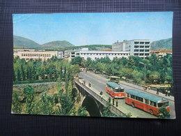 TITOGRAD, PODGORICA, MONTENEGRO, BUS - Montenegro