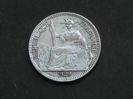 10 Centimes 1929 - Argent - INDOCHINE    *****  EN ACHAT IMMEDIAT ***** - Colonies