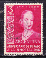 Argentina 1954-Evita  -Usato - Argentine