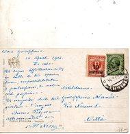 1924 CARTOLINA  CON ANNULLO  MILANO - 1900-44 Vittorio Emanuele III