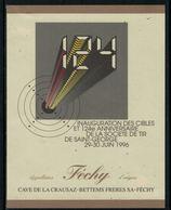 Rare // Etiquette De Vin // Militaire // Féchy, Inauguration Des Cibles Société De Tir De Saint-Georges - Militaire