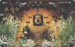 Télécarte Japon / 330-18454 - Culture Tradition Religion - BOUDDHA -  Japan Phonecard - 278 - Culture