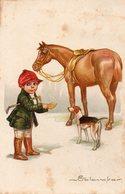 "! CP Colombo Illustrateur "" Equitation "" - Colombo, E."