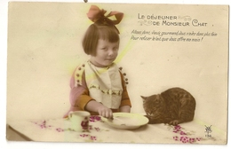 122 - Le Déjeuner De Monsieur Chat - Portraits