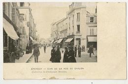 51-21 - Epernay - Coin De La Rue De Chalon (Collection Du Champagne Mercier) - Epernay