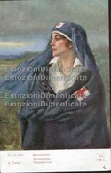 Croce Rossa Crocerossina 1916 Illustratore Guerra 1915 1918 - Croce Rossa