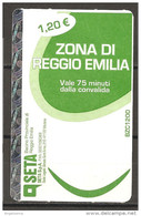 ITALIA - Biglietto Autobus Reggio Emilia SETA Urbano - Europe