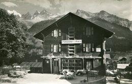 CHAMPERY - CAFE De LA PAIX - R. MONNIER STETTIER - - VS Valais