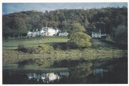 Postcard Brantwood From Coniston Water Cumbria Home Of John Ruskin My Ref  B23246 - Cumberland/ Westmorland