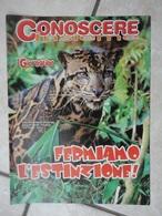 Conoscere Insieme - Opuscolo - Fermiamo L'estinzione -  IL GIORNALINO - Livres, BD, Revues