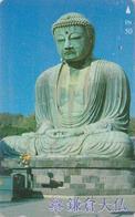 Télécarte Japon / 110-016 - RELIGION - BOUDDHA De KAMAKURA Nara - Japan Phonecard - 286 - Culture