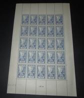 France 1946 Neuf** N° 768 Célébrité Du 15 Eme Siècle Feuille Complète - Feuilles Complètes