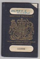 UNITED KINGDOM Passport 1970 GRANDE BRETAGNE Passeport - Reisepaß - Historical Documents