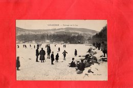 Carte Postale - GERARDMER - D88 - Patinage Sur Le Lac - Gerardmer