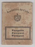 CUBA Passport 1970 Passeport - Reisepaß - Documents Historiques