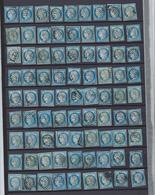 France 1871 Cérès Y&T N° 60A Ou N° 60B Ou N° 60C Lot De 129 Timbres - 1871-1875 Cérès