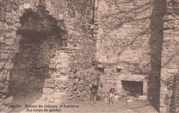 Aywaille:  Ruines Du Château D'Emblève (corps De Garde) - Aywaille