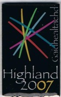 HIGHLAND  2007 «Année De La Culture écossaise En Écosse» - Associations