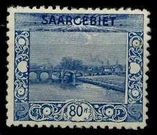 SAARGEBIET LANDS.BILD Nr 62A Postfrisch X788492 - 1920-35 Saargebiet – Abstimmungsgebiet