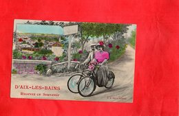 F0912 - AIX LES BAINS - D73 - Recevez Ce Souvenir - Aix Les Bains