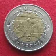 Malawi 5 Kwacha 2006 KM# 57 - Malawi