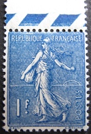 R1692/397 - 1924 - TYPE SEMEUSE LIGNE - N°205 BdF NEUF** - TRES BON CENTRAGE - Cote : 17,40 € - 1903-60 Semeuse Lignée