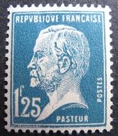 R1692/401 - 1923 - TYPE PASTEUR N°180 NEUF* - Cote : 31,00 € - 1922-26 Pasteur