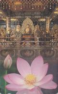 Télécarte  Japon / 110-016 - CULTURE RELIGION - BOUDDHA & Fleur De Lotus -  Japan Phonecard - BUDDHA  - 298 - Culture