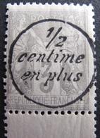 R1692/405 - SAGE TYPE II N°87 NEUF** BdF Avec 1/2 Centime En Plus Dans Un Cercle - 1876-1898 Sage (Type II)