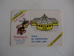 Astérix Portuguese Pocket Calendar 1986 - Calendriers