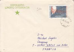 Lettre Pologne - Esperanto