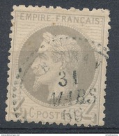 N°27 CACHET CERCLE POINTILLE - 1863-1870 Napoleon III With Laurels