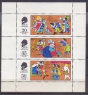 DDR , Märchen  2096/98 KB , Xx  (3950) - [6] République Démocratique