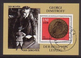DDR ,  Bl.68 , O  (3958) - [6] République Démocratique