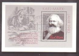 DDR , Bl.71 , O  (3960) - [6] République Démocratique