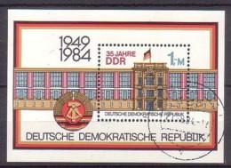 DDR , Bl.77 , O  (3961) - [6] République Démocratique