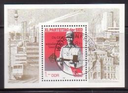 DDR , Bl.83 , O  (3964) - [6] République Démocratique