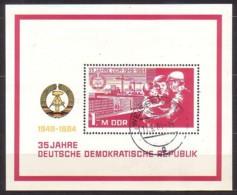 DDR , Bl.78 , O  (3966) - [6] République Démocratique