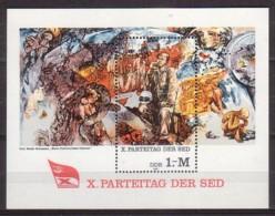 DDR , Block 63 , Xx  (4404) - [6] République Démocratique