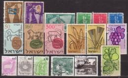 Israel-Lot,  6 Kompl.Sätze , O  (4154) - Israel