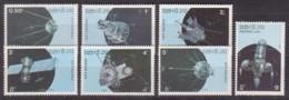 Raumfahrt, Laos  988/94 , Xx  (4192) - Space