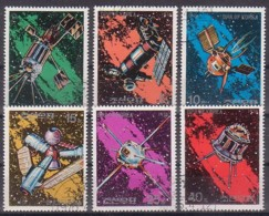 Raumfahrt, N.K.   1492/97 , O  (4058) - Space