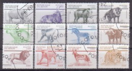 Benin, Tiere  1133/44 , O  (4280) - Benin - Dahomey (1960-...)